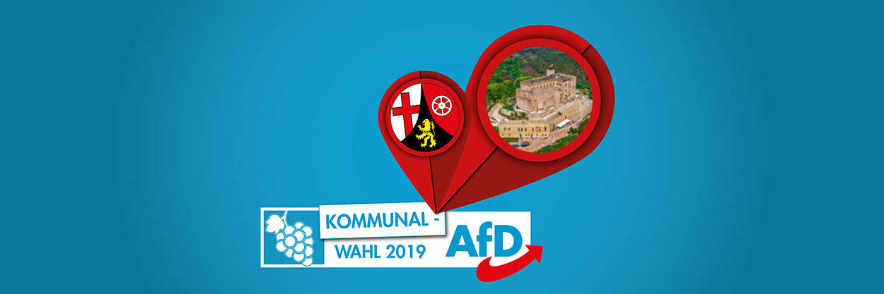 Kummanwahl - AfD Rhein Hunsrück - Banner